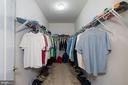 His and Her Walk-in Closets (This is his) - 24436 PERMIAN CIR, ALDIE