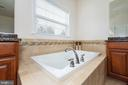 Relax in the large soaking tub - 24436 PERMIAN CIR, ALDIE
