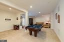 Finished Basemen is perfect for entertaining - 24436 PERMIAN CIR, ALDIE