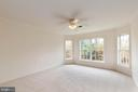 2nd Bedroom with ceiling fan - 44267 OLDETOWNE PL, ASHBURN