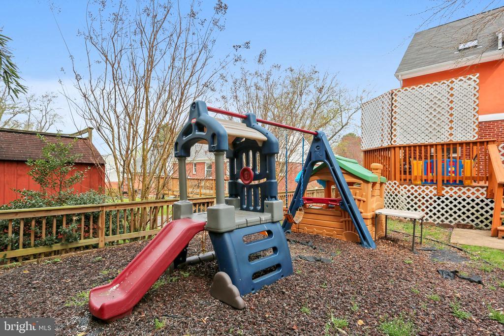 Backyard - 4914 BANGOR DR, KENSINGTON
