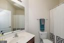 Bedroom #3 en-suite Private Full Bath - 24436 PERMIAN CIR, ALDIE