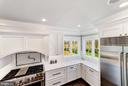 Kitchen - Quartz Countertops & View of Golf Course - 2779 N WAKEFIELD ST, ARLINGTON