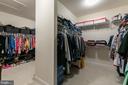 Master Closet - 15747 BASKERVILLE CT, LEESBURG