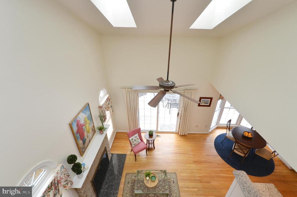 View from Upstairs Landing - 302 TRAMORE CT, STERLING