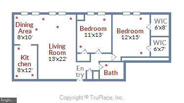 Floor Plan - 5111 8TH RD S #305, ARLINGTON