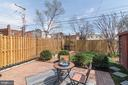 Back Yard - Serene, Peaceful, Warm, & Inviting! - 517 N WEST ST, ALEXANDRIA