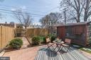 Back Yard - Brick Patio, Perfect for Entertaining! - 517 N WEST ST, ALEXANDRIA
