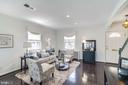 Living Room - Recess Lighting & Hardwood Floors! - 517 N WEST ST, ALEXANDRIA