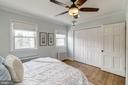 Master Bedroom Features TWO Sets of Closets! - 517 N WEST ST, ALEXANDRIA