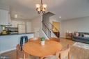 Room for a table - 6072 DEER HILL CT, CENTREVILLE