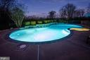 Serene pool & spa makes for Resort Style living - 14974 MERRITT FARM LN, LEESBURG