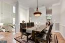 Formal Dining room - 20258 ISLAND VIEW CT, STERLING