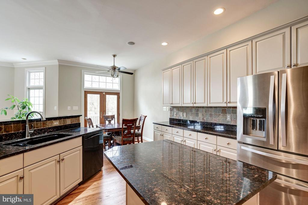Granite and stainless steel appliances - 20258 ISLAND VIEW CT, STERLING