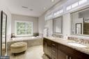 Updated Master Bath - 20258 ISLAND VIEW CT, STERLING