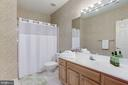 Full Bath #4 on Lower Level - 20258 ISLAND VIEW CT, STERLING