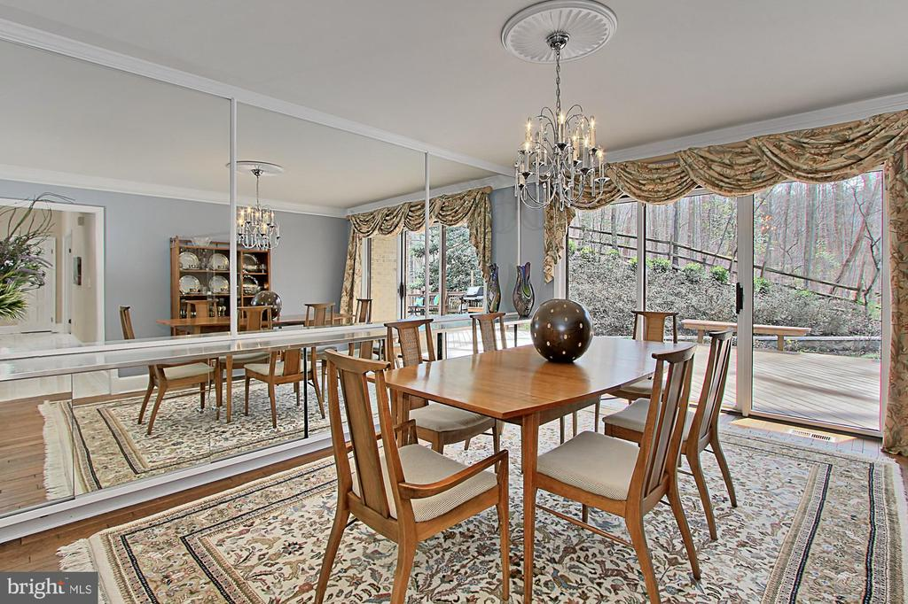 Formal Dining - 8345 CATHEDRAL FOREST DR, FAIRFAX STATION