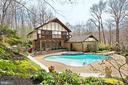 Beautiful backyard setting - 8345 CATHEDRAL FOREST DR, FAIRFAX STATION