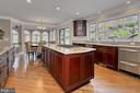 Wow! This kitchen has it all! - 8345 CATHEDRAL FOREST DR, FAIRFAX STATION