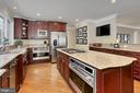 Double ovens and warming tray - 8345 CATHEDRAL FOREST DR, FAIRFAX STATION