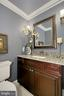 Powder room - 8345 CATHEDRAL FOREST DR, FAIRFAX STATION