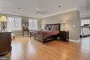 Gorgeous Master Suite with sitting room - 8345 CATHEDRAL FOREST DR, FAIRFAX STATION