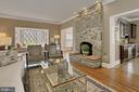 Family room - 8345 CATHEDRAL FOREST DR, FAIRFAX STATION