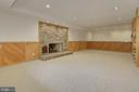 3rd fireplace is located in lower level - 8345 CATHEDRAL FOREST DR, FAIRFAX STATION