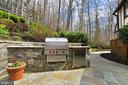 Built in Viking grill, warming drawer and fridge - 8345 CATHEDRAL FOREST DR, FAIRFAX STATION