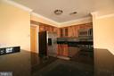 Beautiful black granite counters - 10101 WINDSTREAM DR #6, COLUMBIA