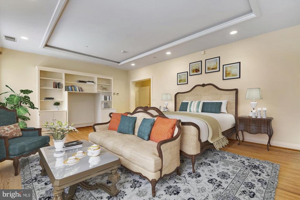 Master bedroom - 4600 ELM ST #R-4, CHEVY CHASE