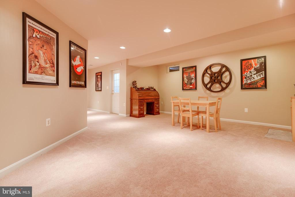 Lower Level Game Area - 707 INVERMERE DR NE, LEESBURG