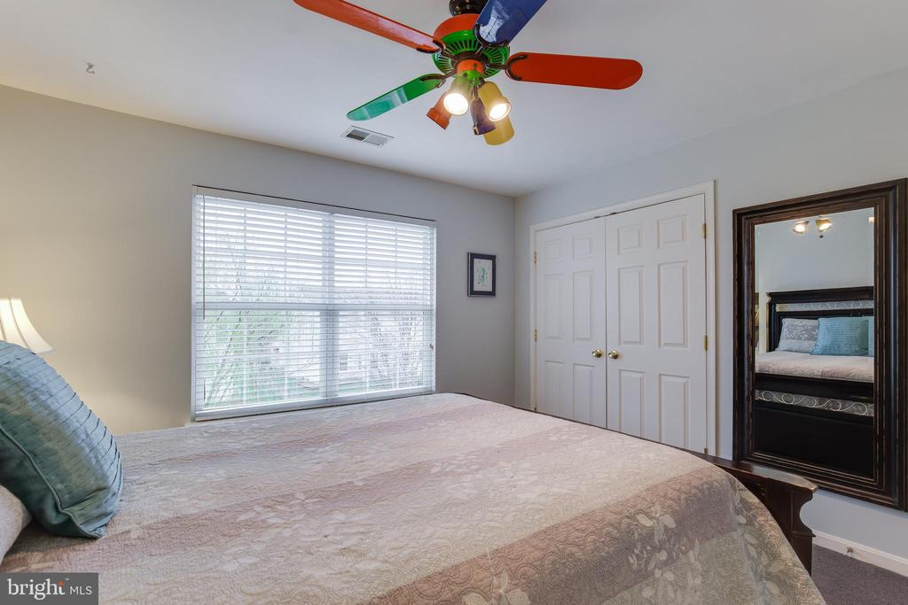 Bedroom 2 with Ceiling Fan - 707 INVERMERE DR NE, LEESBURG