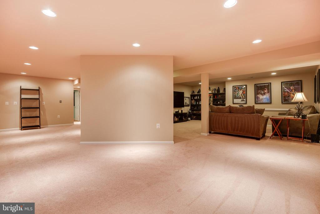 Lower Level Recreation Room w/Wet Bar Rough-In - 707 INVERMERE DR NE, LEESBURG