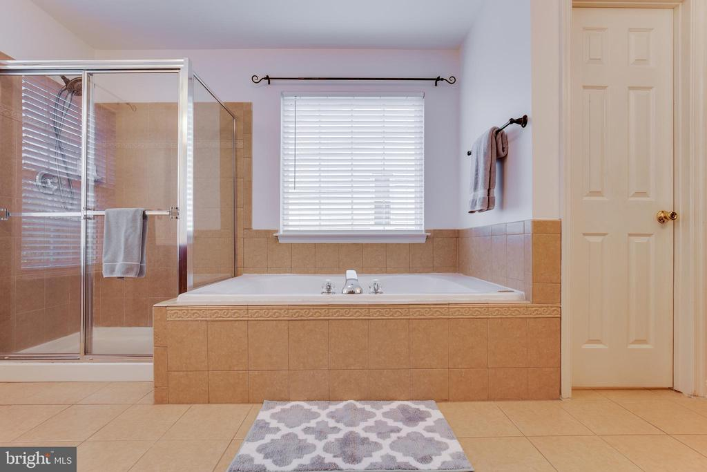Master Bath with Soaking Tub and Separate Shower - 707 INVERMERE DR NE, LEESBURG