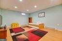 Lower Level Exercise Room/Den - 707 INVERMERE DR NE, LEESBURG