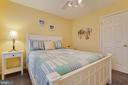 Bedroom 3 with Ceiling Fan - 707 INVERMERE DR NE, LEESBURG