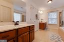 Master Bath with Ceramic Tile, Upgraded Plumbing - 707 INVERMERE DR NE, LEESBURG