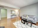 Large living room! - 2011 KEY BLVD #599, ARLINGTON