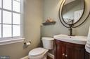 Main level half bath - 42771 CONQUEST CIR, BRAMBLETON