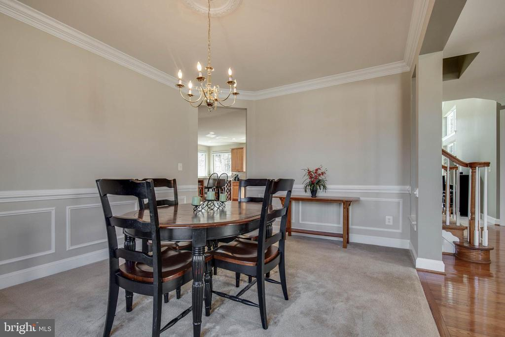 Dining room - 42771 CONQUEST CIR, BRAMBLETON