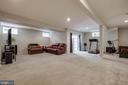 Basement rec room with walk up - 42771 CONQUEST CIR, BRAMBLETON