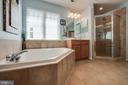 Master tub and separate shower - 42771 CONQUEST CIR, BRAMBLETON