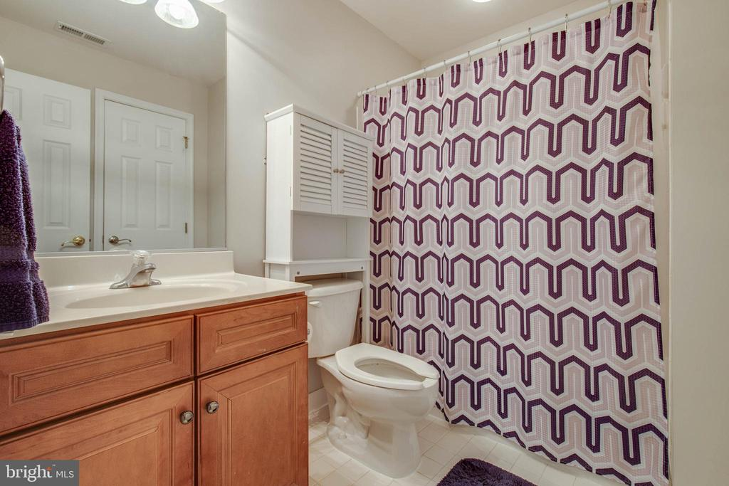 Basement full bath - 42771 CONQUEST CIR, BRAMBLETON