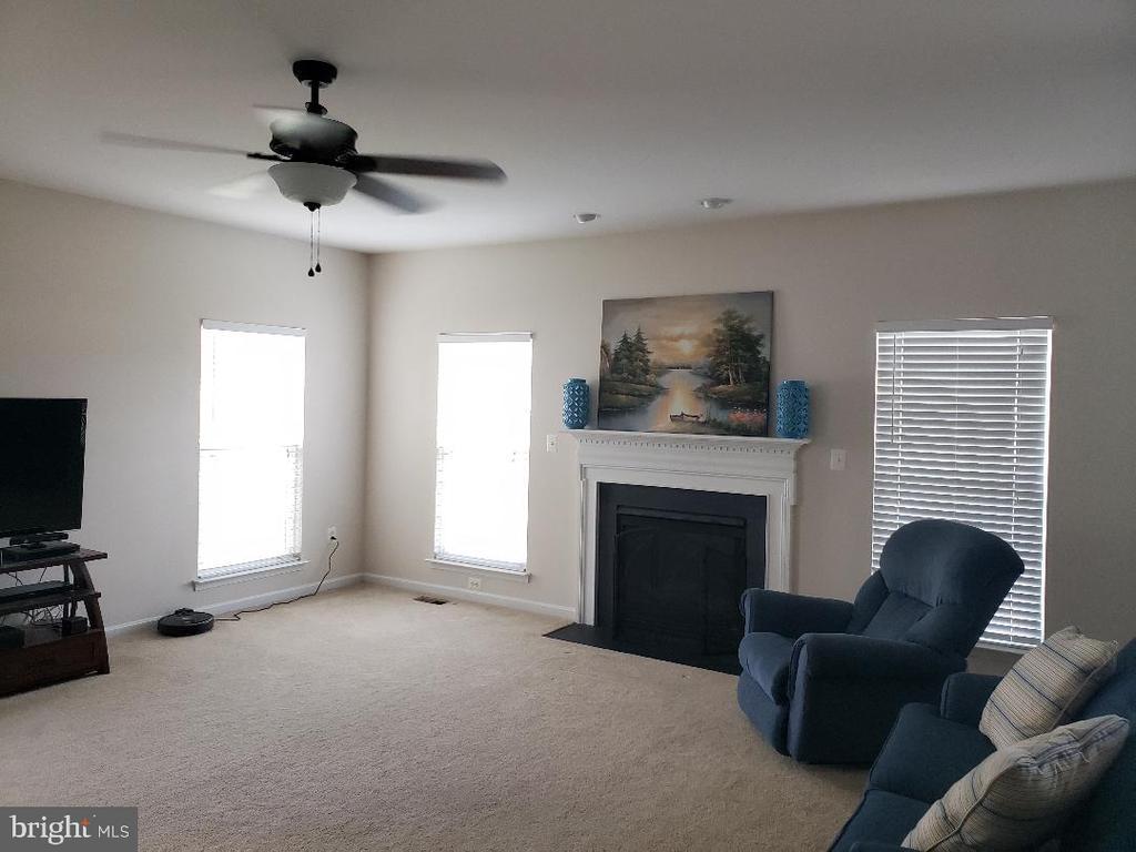 Fireplace in Living room - 30 BISMARK DR, STAFFORD