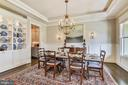 Lovely millwork and built in cabinetry - 301 NIBLICK DR SE, VIENNA