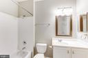 Clean White Bathroom - 42446 MAYFLOWER TER #301, BRAMBLETON