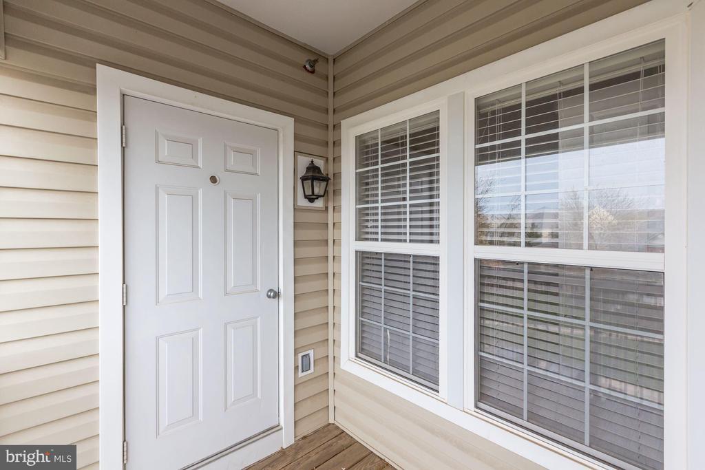 Balcony Utility Closet - 42446 MAYFLOWER TER #301, BRAMBLETON