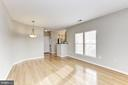 View of Expansive Living Spaces - 42446 MAYFLOWER TER #301, BRAMBLETON