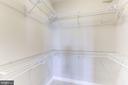 Large Walk-In Closet - 42446 MAYFLOWER TER #301, BRAMBLETON